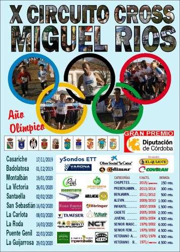 Carrera X Circuito Cross Miguel Rios