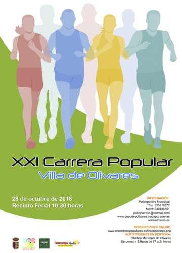 XXI Carrera Popular Villa de Olivares