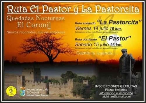 Quedadas Nocturnas Ruta de El Pastor