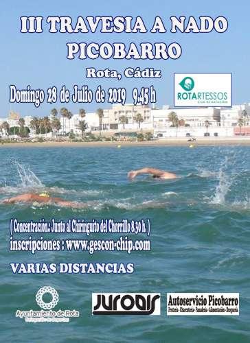 III Travesía a nado PicoBarro