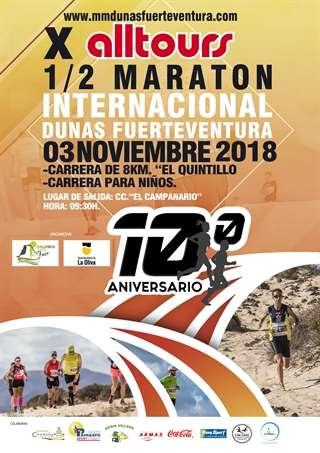 X Media Maratón Internacional Dunas Fuerteventura