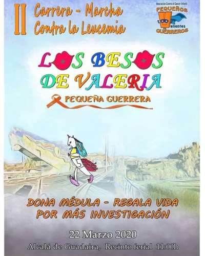II Carrera-Marcha contra la Leucemia Los Besos de Valeria