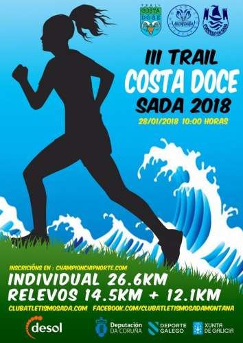 Carrera III Trail Costa Doce