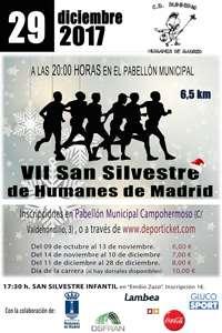 VII Carrera Popular San Silvestre de Humanes de Madrid