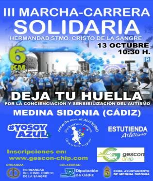 III Marcha Solidaria de Medina Sidonia