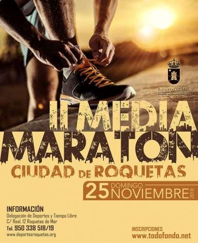 II Medio Maratón Ciudad de Roquetas