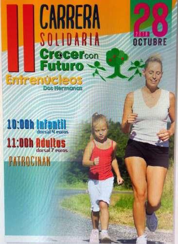 II Carrera Solidaria Crecer con Futuro