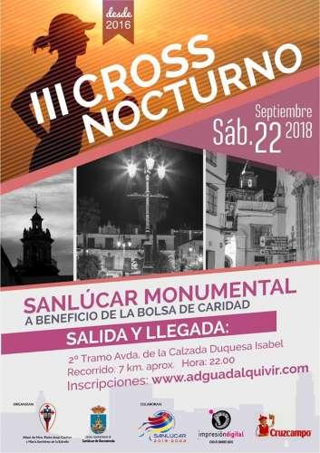 III Cross Nocturno Sanlúcar Monumental