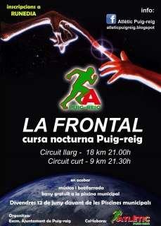 La Frontal III Cursa Nocturna de Puig-Reig
