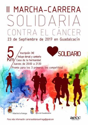 II Carrera-Marcha Solidaria Contra el Cancer