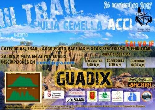 III Trail Julia Gemella Acci Guadix