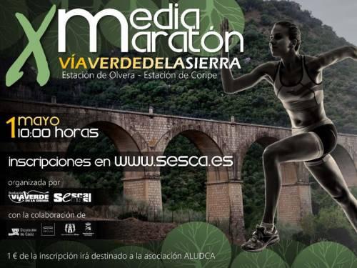 X Media Maratón Vía Verde de la Sierra