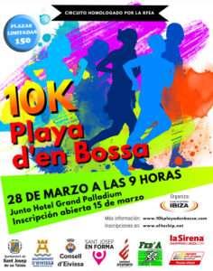 10K Playa den Bossa
