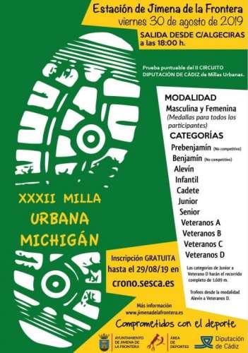 XXXII Milla Urbana Michigan