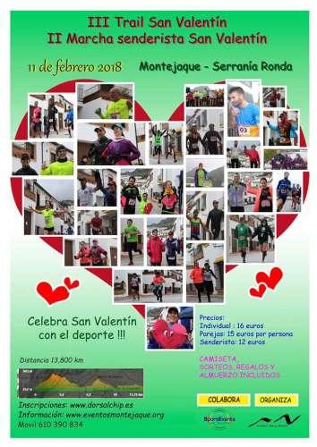 III Trail San Valentín de Montejaque