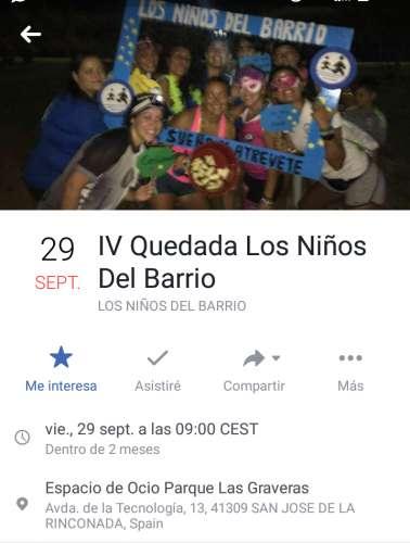 IV Quedada Los Niños del Barrio