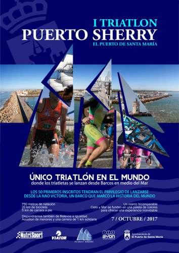 I Triatlón Olímpico Puerto Sherry