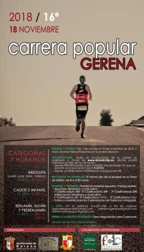 XVI Carrera Popular Gerena
