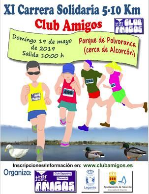 XI Carrera Solidaria Club Amigos