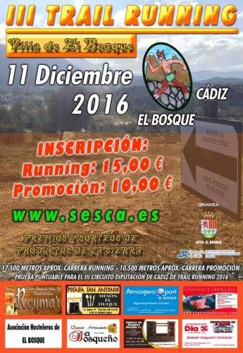 III Trail Running El Bosque