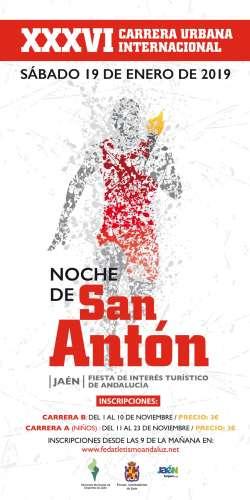 XXXVI Carrera Urbana Internacional Noche de San Antón
