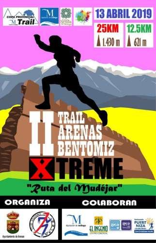 II Trail Arenas Bentomiz Xtreme Ruta del Mudéjar