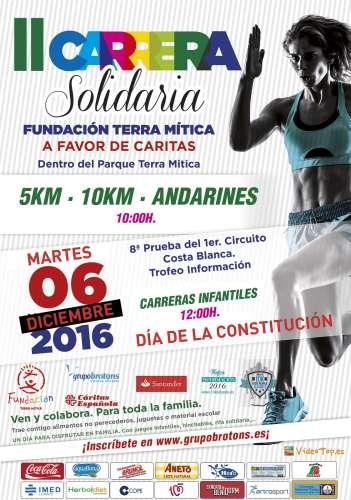 II Carrera Solidaria Fundación Terra Mítica