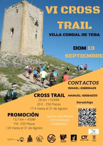 VI Cross Trail Villa de Teba