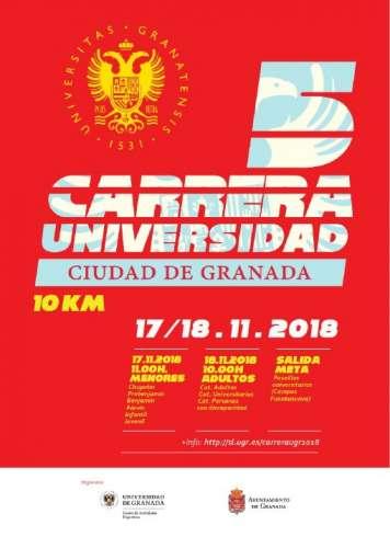 5ª Carrera Urbana Universidad Ciudad de Granada