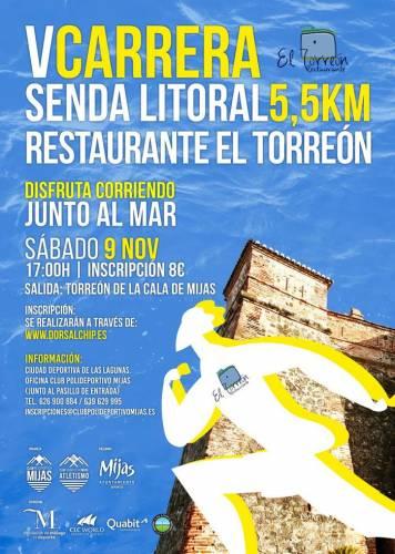 V Carrera Senda Litoral Restaurante el Torreon