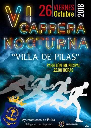 VI Carrera Nocturna Villa de Pilas