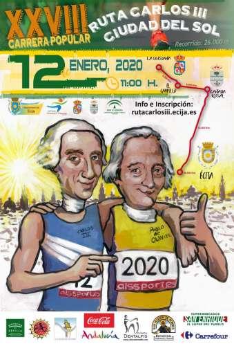 XXVIII Carrera Popular Ruta Carlos III Ciudad del Sol