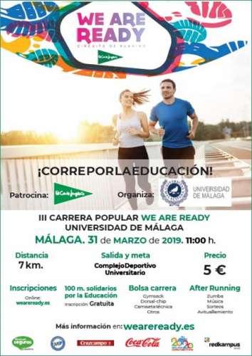 We Are Ready Universidad de Málaga 2019