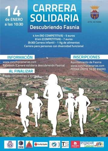 IV Carrera Solidaria Fasnia 2017