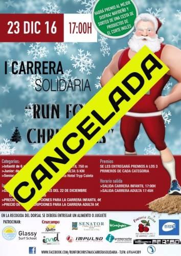 I Carrera Solidaria RUN FOR CHRISTMAS