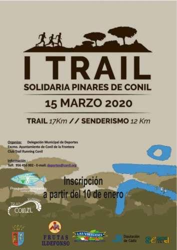 I Trail Solidario Pinares de Conil
