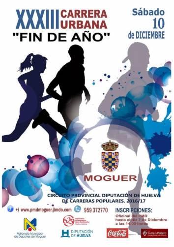 XXXIII Carrera Urbana Fin de Año Moguer