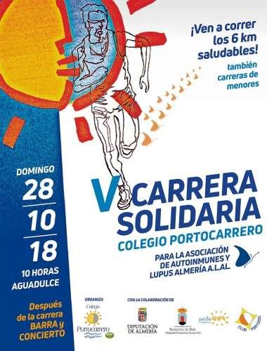V Carrera Solidaria Colegio Portocarrero