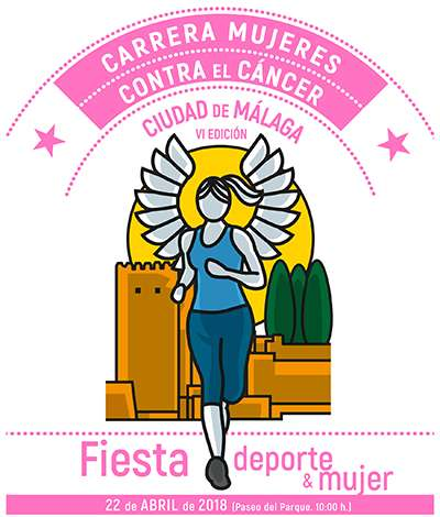 VI Carrera Mujeres Contra el Cáncer Ciudad de Málaga