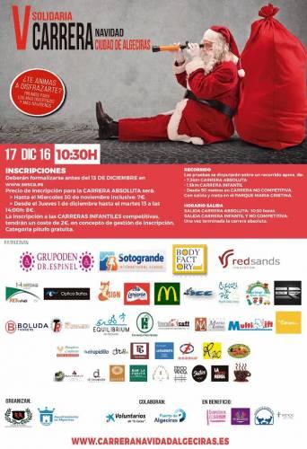 Carrera V Carrera Solidaria Navidad de Algeciras