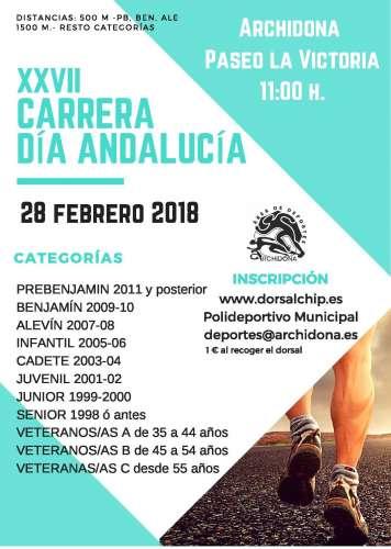 XXVII Milla Urbana Día de Andalucía
