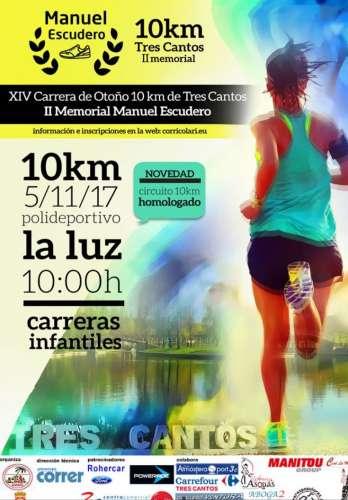 XIV Carrera de Otoño 10km de Tres Cantos