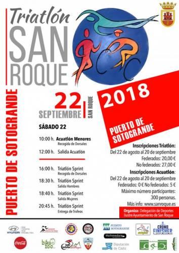 VI Triatlón San Roque