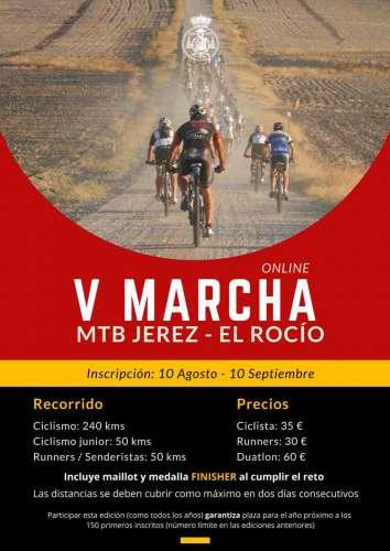 V Marcha MTB Jerez-El Rocío