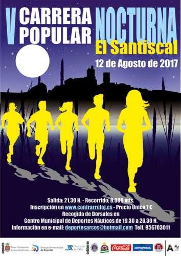 V Carrera Popular Nocturna El Santiscal