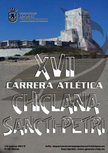 XVII Carrera Atlética Chiclana - Sancti Petri