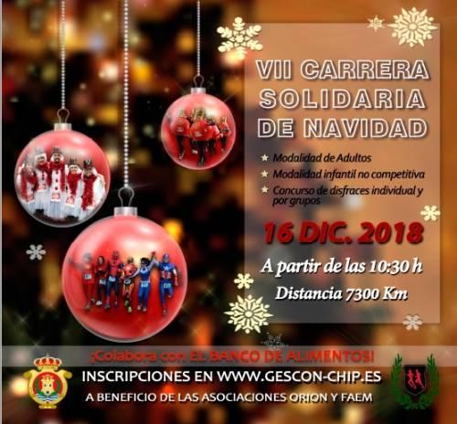 VII Carrera Solidaria Navidad de Algeciras
