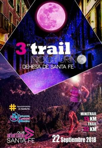 III Trail Nocturno Dahesa de Santa Fe
