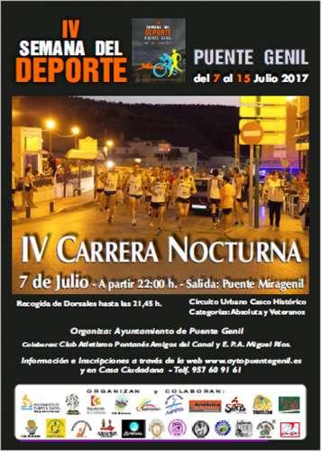 IV Carrera Nocturna Puente Genil