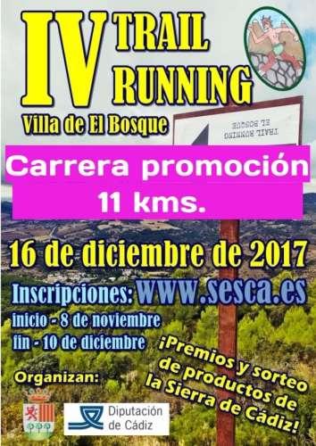 IV Trail Carrera Promoción El Bosque